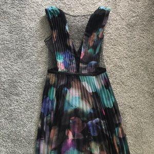 Long formal dress from Bebe